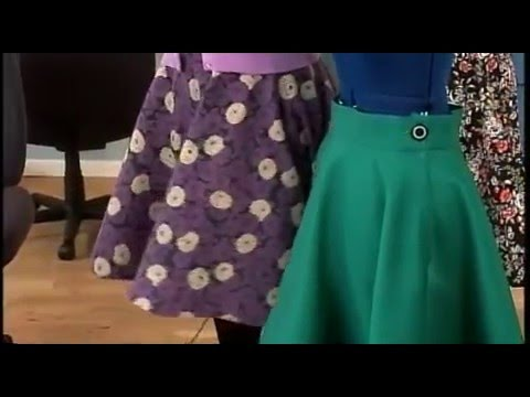 Gretchen Hirsch Shows How To Make a Vintage Skirt on It's Sew Easy (101-1)