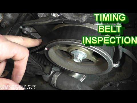 Subaru Timing Belt Inspection