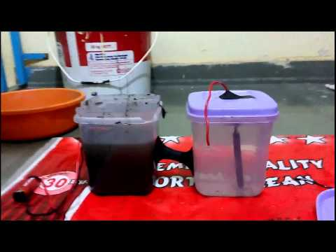 How to make an Microbial Electrolysis Cell MEC (Part 3)