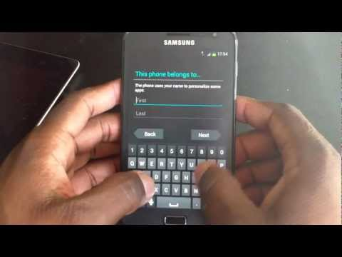 Samsung Galaxy Note N7000 Ice cream sandwich update