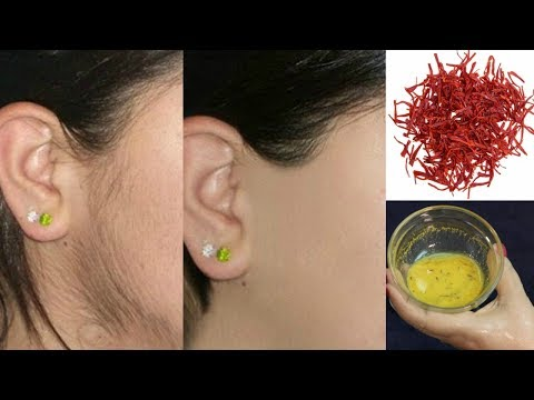 Miracle Home Remedy To Remove Facial Hair Permanently 100% Effective Hair Removal Secret