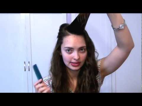 ☺Get Straight Bangs Without a Flat Iron or Blow Dryer (No Heat): Quick & Easy Hair Tutorial☺