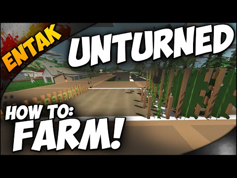Unturned Crafting Guide ➤ How To Farm - How To Make A Greenhouse - Make Fertilizer