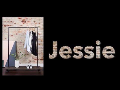 How to build RackBuddy Jessie clothes rack - Gør-det-selv tøjstativ i vandrør