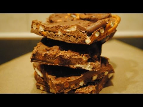 CHOCOLATE PRETZEL BLOCK - Student Recipe
