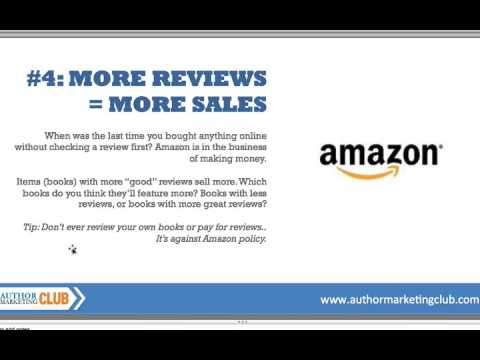 Quick & Easy - How To Sell More Books on Amazon