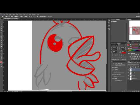 Speed Art - Twitch Emote Design - Chicken + ChickenPride