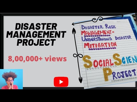 Disaster Management project|social science|Mitigation| Class 9th-10th
