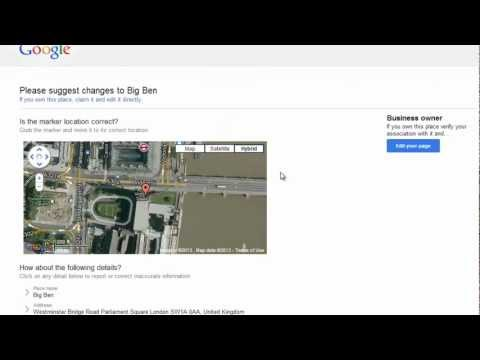 How to Remove Google Map Listing