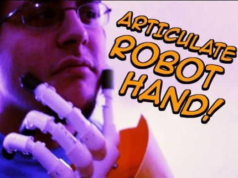 Terminator, Hellboy : Articulated Robotic Hand : DIY Film Tutorial