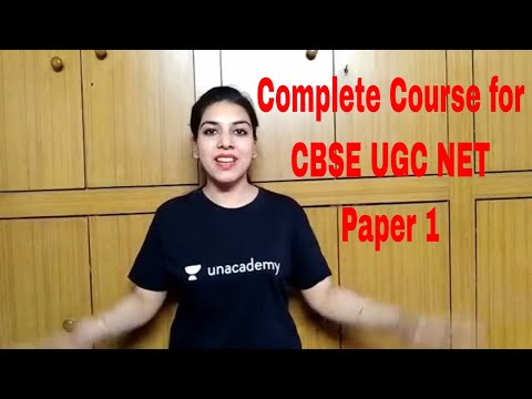 CBSE UGC NET Paper 1 Complete Course for JULY 2018