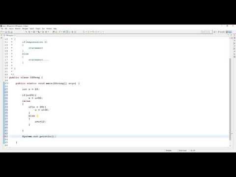 Java Tutorial For Beginners - Control Statement - IF ELSE