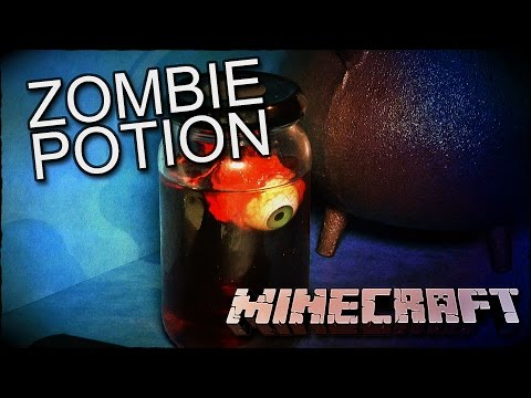 How To Make Minecraft Potion To Spawn Zombie Mobs