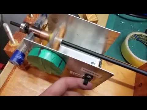 Building a DC motor with Commutator