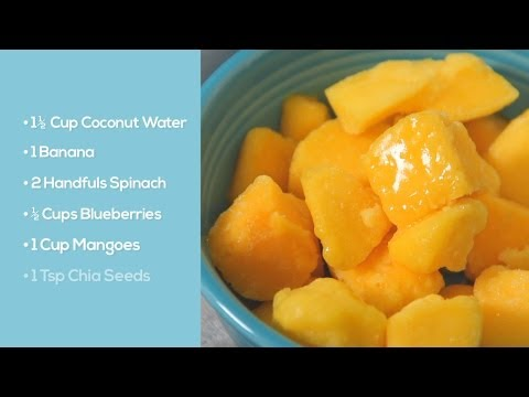 The Best Blueberry-Mango Smoothie Recipe | Wellness Today by Integrative Nutrition