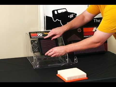 See the difference K&N air filters make