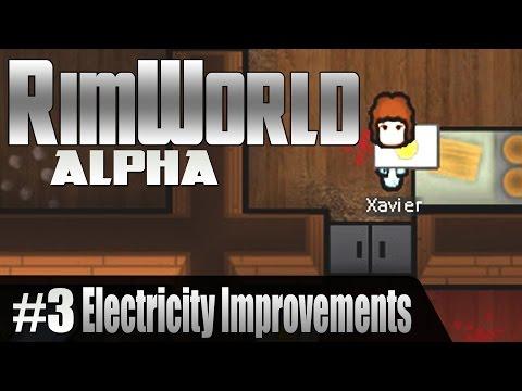 Rimworld Alpha 9 - Electricity Improvements