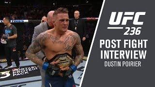 UFC 236: Dustin Poirier -