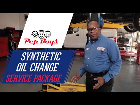 Synthetic Oil Change Packages - Pep Boys