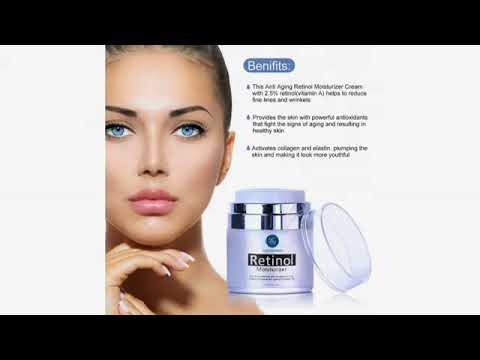 Must See Review! Pure Biology Anti Aging Night Cream w/ Pure Retinol, Hyaluronic Acid & Breakthro..