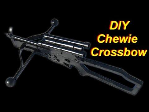 DIY Chewbacca Bowcaster (Star Wars Wookie Crossbow)