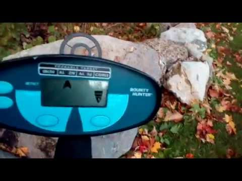 Bounty hunter quick silver metal detector review