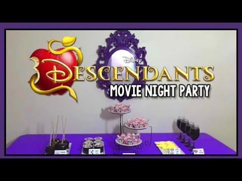 Disney Descendants Movie Night Party - Villains Themed Snack Ideas - Scarlett's Parties Ep 7