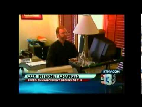 Cox increases Internet speeds