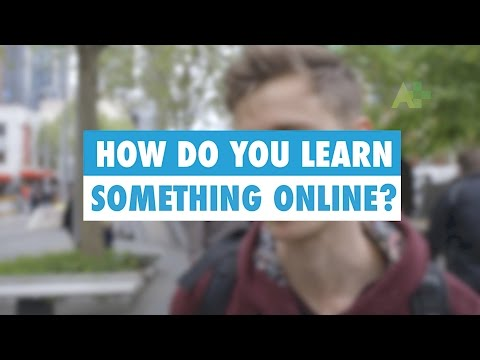 Learn English: How do you learn something online?