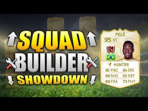 FIFA 15 SQUAD BUILDER SHOWDOWN!!! LEGEND PELE!!! 95 Rated Pele Fifa 15 Squad Builder Duel