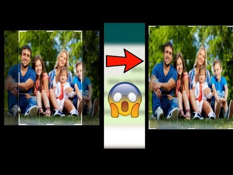 How To Set Full Size Image On Whatsapp Profile Picture Without Cropping | Square Droid Whatsapp DP