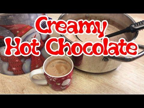 Delicious Creamy Hot Chocolate Recipe