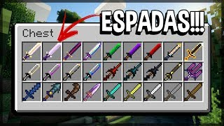 Minecraft Épico #51: A SALA MEDIEVAL COM TODAS AS ESPADAS DO ÉPICO!!!