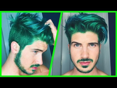 DYING MY HAIR GREEN!