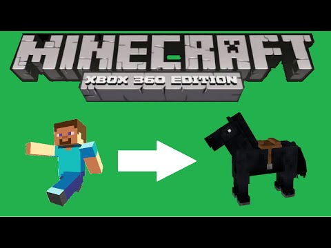 Minecraft Xbox 360 + PS3 Shapeshift Into Horse