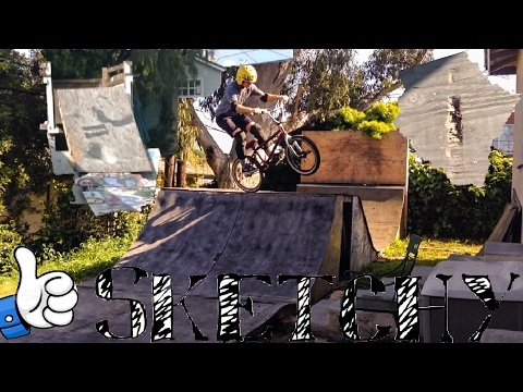 Sketchy BMX Box Jump Session