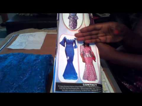 MAKING AN AFRICAN BLOUSE AND LONG SKIRT WITH LUTTERLOH SYSTEM(001)