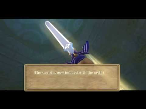The Legend Of Zelda Skyward Sword:Master Sword