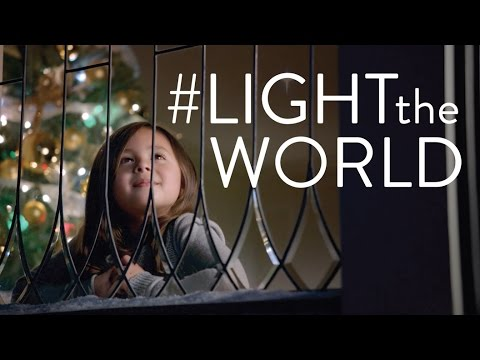 LIGHTtheWORLD—Follow the example of Jesus Christ. Share His light and serve as He served.