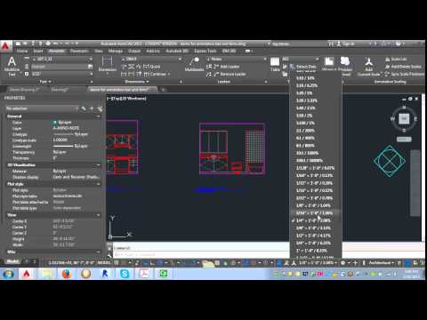 Using annotative text and leaders in AutoCAD 2015