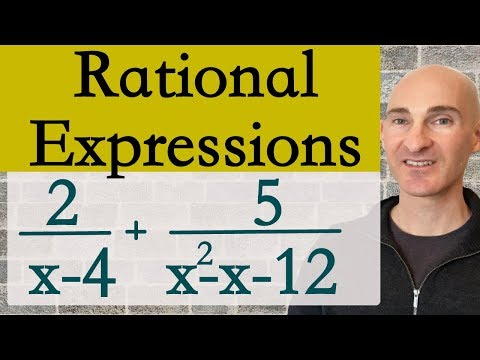 Rational Expressions Add & Subtract