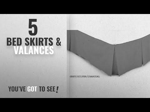 Top 10 Bed Skirts & Valances [2018]: ARLINENS Luxury Plain Dyed Poly Cotton Platform Base Valance