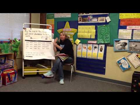 Renee Argain - 1st Grade Demo Lesson