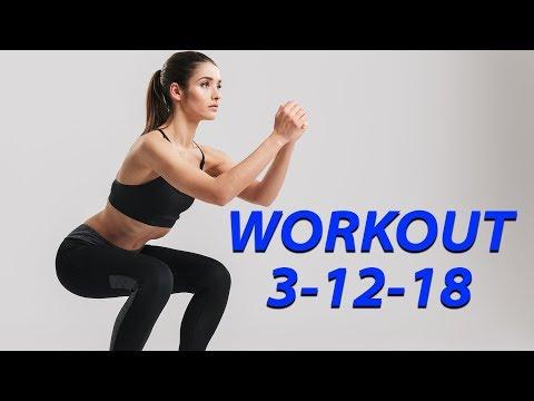 Workout 3-12-18