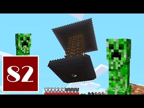 Minecraft Let's Play - 82 - Giving Myself the Creeps, Part 1: Build a Creeper Farm