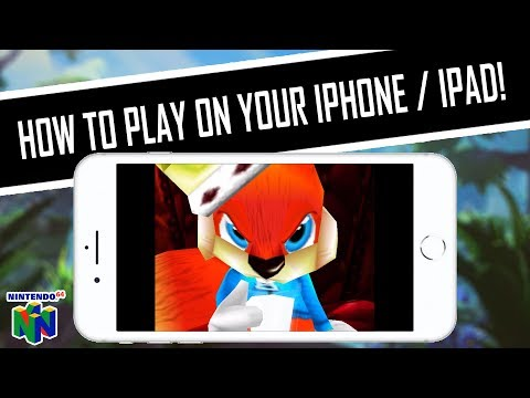 HOW TO PLAY Conker's Bad Fur Day (Nintendo 64) on iPhone, iPad, iPod, iOS Setup Tutorial & Settings