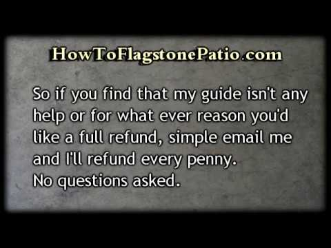 Learn How To Install A Flagstone Patio & Path.retaining walls.driveway pavers.patio ideas