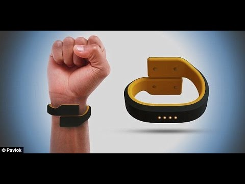 Wristband uses electric zaps to keep wearers from spending too much money