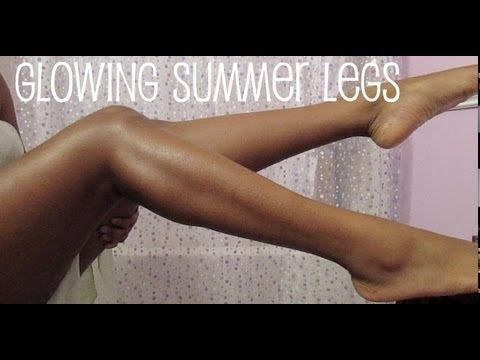 How To | Glowing Summer Legs♡