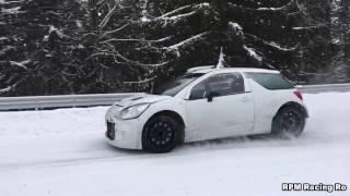 Test Rallye Monte Carlo 2017 - Simone Tempestini (Citroen DS 3 R5 )